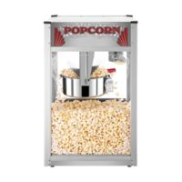 Superior Popcorn Company Commercial Style Popcorn Machine in Silver