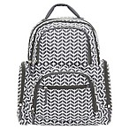 carter's® On the Move Backpack Diaper Bag in Grey Herringbone