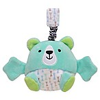 Magic Years® Bear Chime Rattle with Travel Strap in Green