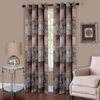 Achim Vogue 84-Inch Grommet Top Room-Darkening Window Curtain Panel in Brown