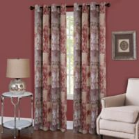 Achim Vogue 63-Inch Grommet Top Room-Darkening Window Curtain Panel in Marsala