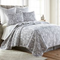 Levtex Home Satara Reversible King Quilt Set in Grey