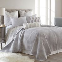 Levtex Home Priscilla Reversible King Quilt Set in Grey