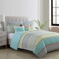 VCNY Home Dharma Reversible Twin XL Quilt Set
