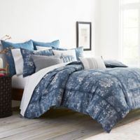 ED Ellen DeGeneres Hanako Reversible Full/Queen Comforter Set in Blue