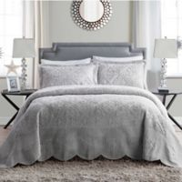 VCNY Home Westland Plush Full Bedspread Set