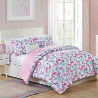 VCNY Home Pretty Butterfly Full Comforter Set