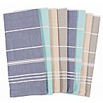 KAF Home Coastal Striped 8-Pack Kitchen Towels
