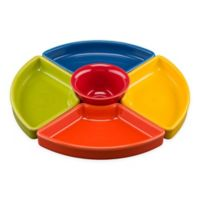 Fiesta 5-Piece Entertaining Set in Bold Colors