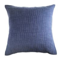Real Simple® Dune Chambray European Pillow Sham in Blue