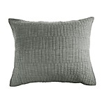 Real Simple® Dune Chambray Standard Pillow Sham in Sage