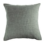 Real Simple® Dune Chambray European Pillow Sham in Sage