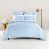 Ted Baker London Bow King Coverlet in Light Blue