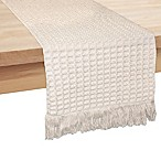 Bardwil Linens Tanami 70-Inch Table Runner in Natural