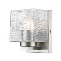 Filament Design 1-Light LED Vanity Fixture in Brushed Nickel