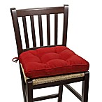 Morocco Chair Pad in Garnet