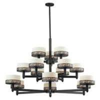 Filament Design Elea 15-Light Chandelier in Bronze