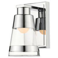 Filament Design Ethos 1-Light LED Wall Sconce in Chrome