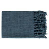 Surya Tilda Throw Blanket in Navy