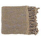 Surya Tibey Throw Blanket in Tan