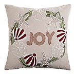 Coastal Joy Square 20-Inch x 20-Inch Throw Pillow in Natural
