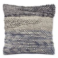 Evening Mist Square Decorative Pillow in Grey