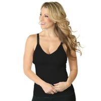 Rumina Medium Hands-Free Seamless Pump & Nurse Nursing Bra in Black