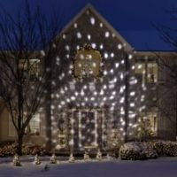 Gemmy® Snowflurry Projector Light in White