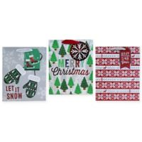 3-Pack Large Christmas Gift Bags