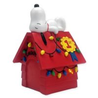 hallmark snoopy dog house pre lit decoration - Animated Christmas Decorations Indoor