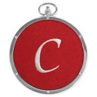 "Crystals from Swarovski® Harvey Lewis™ Monogram Letter ""C"" Ornament"
