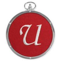 "Crystals from Swarovski® Harvey Lewis™ Monogram Letter ""U"" Ornament"