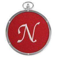 "Crystals from Swarovski® Harvey Lewis™ Monogram Letter ""N"" Ornament"