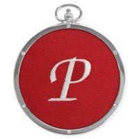 "Crystals from Swarovski® Harvey Lewis™ Monogram Letter ""P"" Ornament"