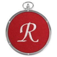 "Crystals from Swarovski® Harvey Lewis™ Monogram Letter ""R"" Ornament"