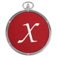 "Crystals from Swarovski® Harvey Lewis™ Monogram Letter ""X"" Ornament"