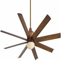 Minka-Aire® Slipstream 65-Inch Ceiling Fan in Distressed Koa with Remote Control