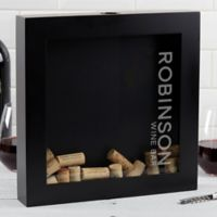 Wine Bar Wine Cork Shadow Box