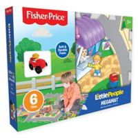 Fisher Price® Little People 6-Piece Mega Floor Mat with Vehicle