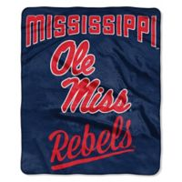 University of Mississippi Raschel Throw