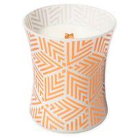 WoodWick® White Teak Decal Hourglass Jar Candle