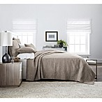 Real Simple® Dune Chambray Full/Queen Coverlet in Oatmeal