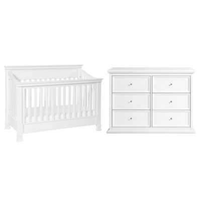 Furniture Collections U003e Million Dollar Baby Classic Foothill 4 In 1 Crib  And Dresser