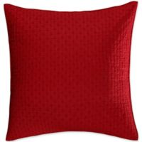 Levtex Home Torrey European Pillow Shams in Red (Set of 2)