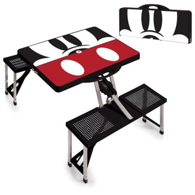 Picnic Time® Disney® Mickey Mouse Picnic Folding Table with Seats in Black  sc 1 st  Bed Bath u0026 Beyond & Buy Folding Table Outdoors from Bed Bath u0026 Beyond