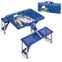 Picnic Time® Star Wars™ R2-D2 Picnic Folding Table with Seats in Blue