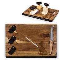 Picnic Time® Disney Beauty & the Beast Delio Acacia Cheese Board & Tools Set