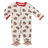 Baby Starters® Sock Monkey Newborn Footie