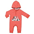 Baby Starters® Size 3M Hooded Coverall in Pink