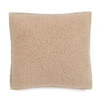 UGG® Classic Sherpa Square Throw Pillow in Sesame